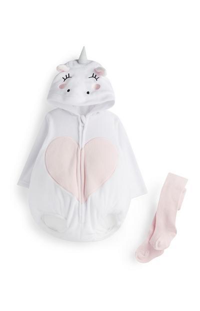 Newborn Unicorn Outfit 2Pc