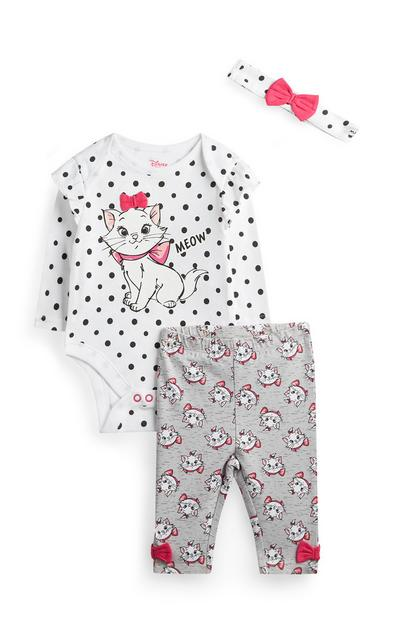 Baby Girl Marie Outfit 3Pc