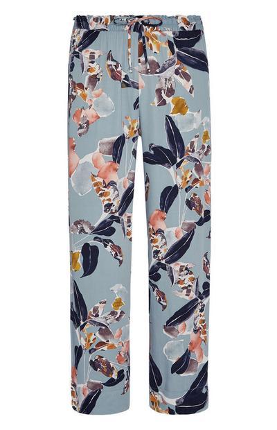 Floral Print Pyjama Trouser