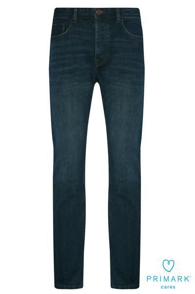Straight Leg Sustainable Cotton Jeans