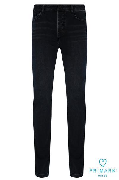 Dark Blue Sustainable Cotton Jeans