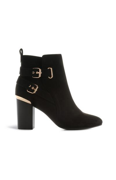Black Heeled Boot