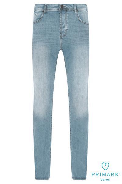 Light Wash Sustainable Cotton Jeans