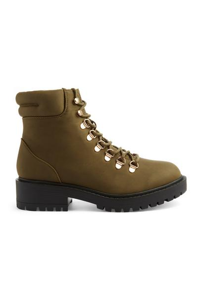 Lace Up Hiker Boot