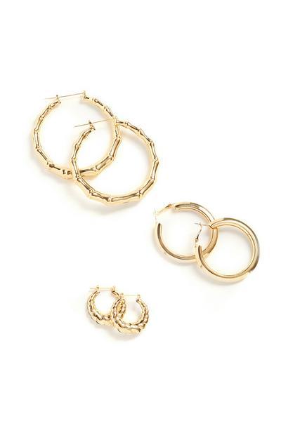 Chunky Circle Earrings