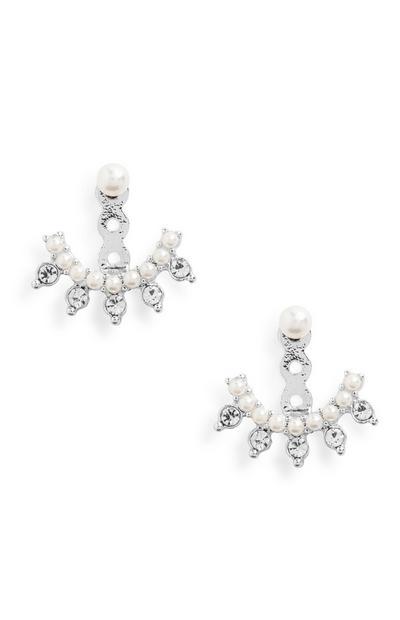 Pearl Lobe Earrings
