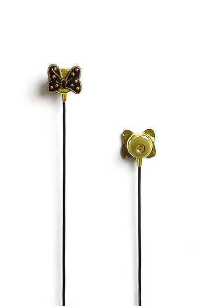 Black Disney Earphones