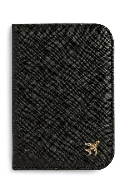 Black Passport Holder
