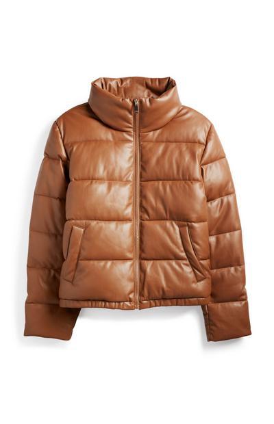 Brown Padded Jacket