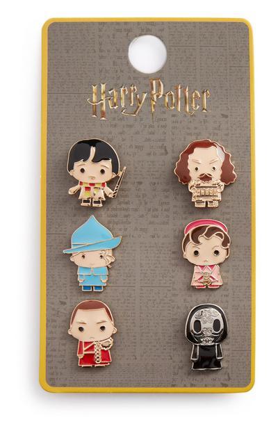Harry Potter Badges 6Pk