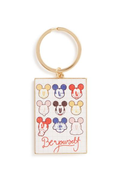 Mickey Mouse Be Yourself Key Ring