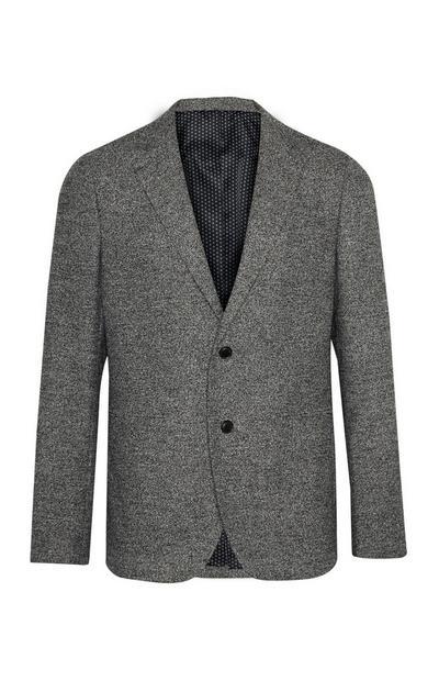 Grey Texture Blazer