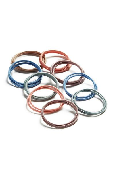 Elastic Hairbands 60Pk