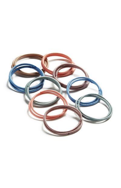 Elastic Hairbands 60Pk