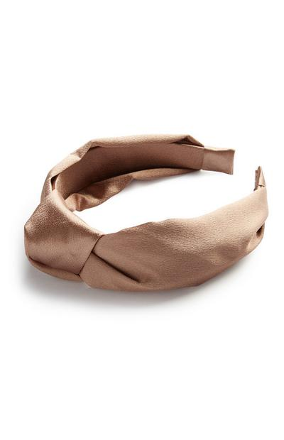 Brown Knot Headband
