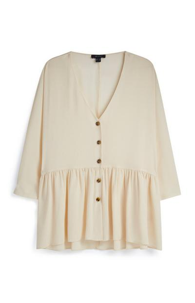 Nude Tired Smock Top