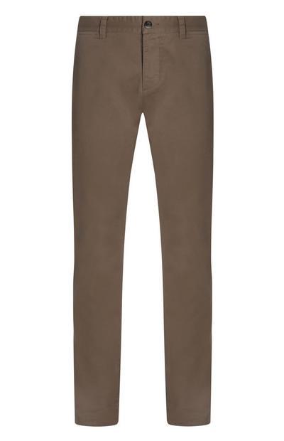 Grey Slim Chino Trouser