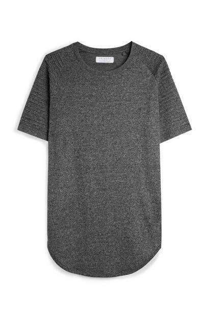 Grey Biker T-Shirt