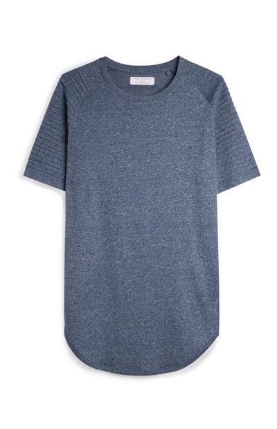 Blue Biker T-Shirt