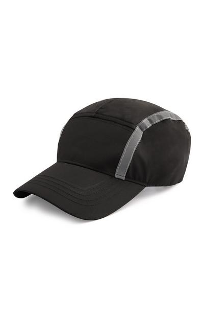 Black Reflective Cap