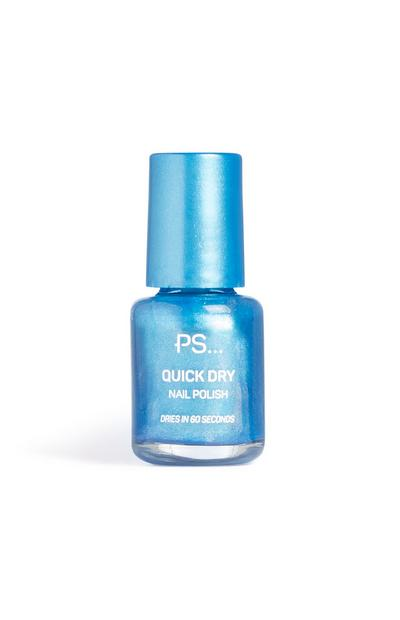 Blue Quick Dry Nail Polish