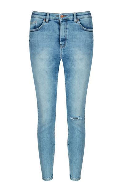 Blue Vintage Skinny Jean
