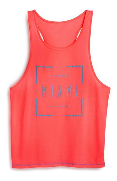 Pink Miami Vest