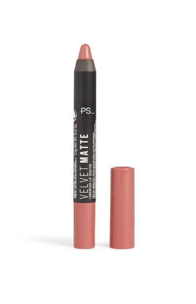 Velvet Matte Lip Crayon Make Me Blush