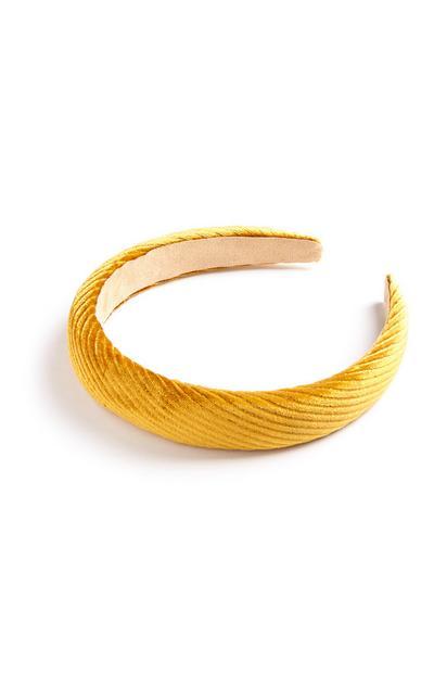 Mustard Velvet Hairband