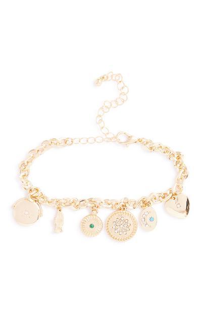 Armband mit Amuletten