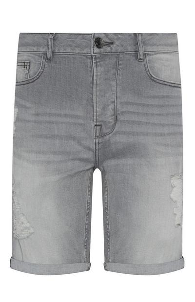 Grey Slim Short