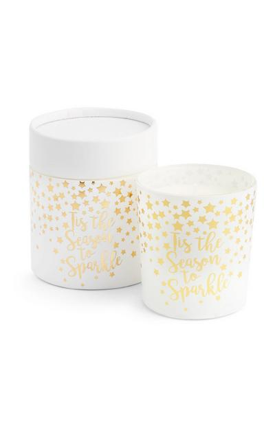 Gold Star Candles 2Pk