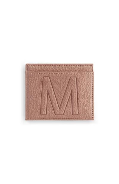 Letter M Cardholder