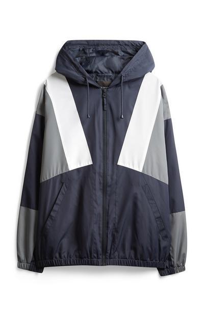 Navy Retro Jacket