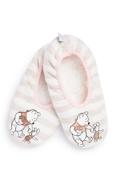 Winne The Pooh Slippper Sock