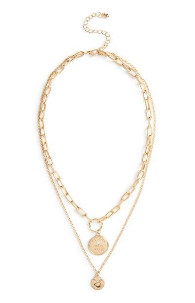 Horoscope Charm Necklace