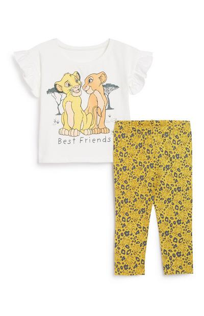 Lion King Outfit 2Pc