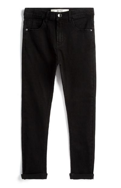 Older Boy Black Jeans