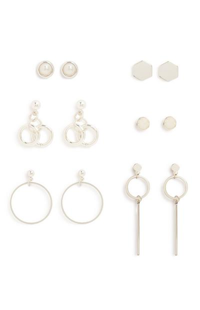 Mix Earrings 6Pk