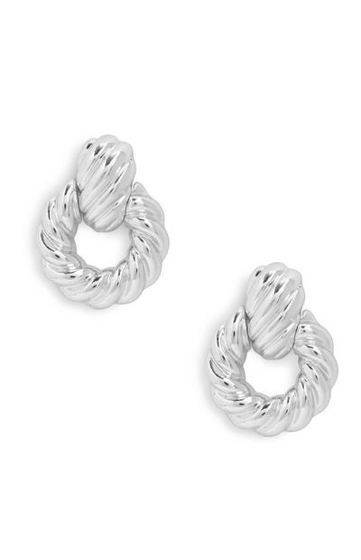 Breite Türklopfer-Ohrringe