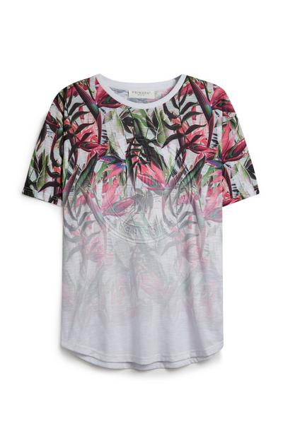 Floral Faded T-Shirt