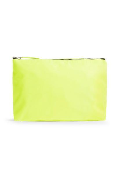 Neon Lime Wash Bag