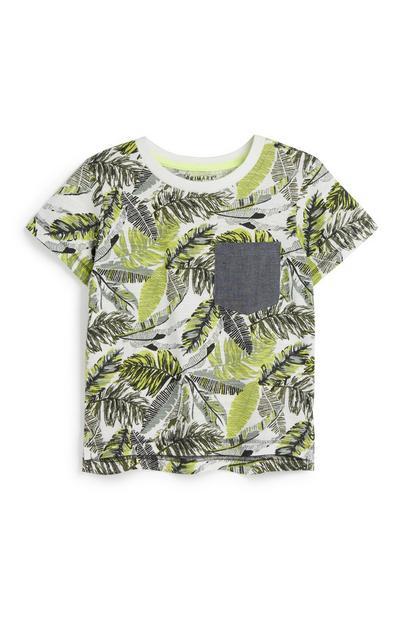 Baby Boy Palm Leaf T-Shirt