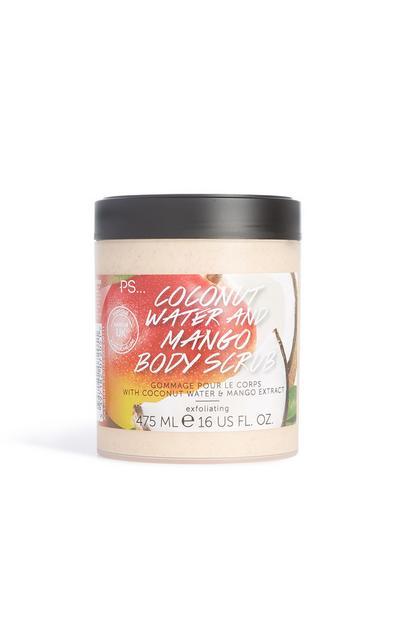 Coconut Water And Mango Body Scrub