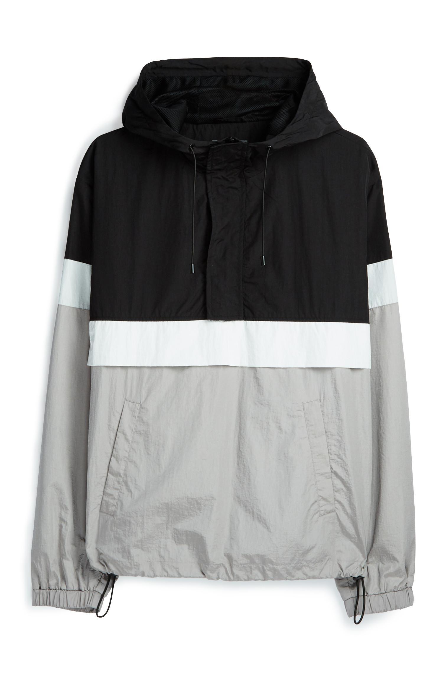 Grey And Black Jacket