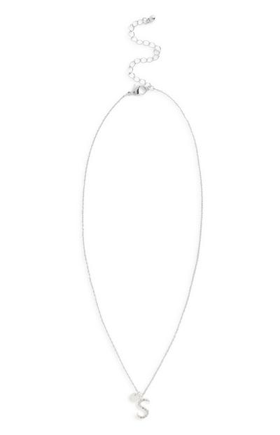 Initial Diamante Necklace