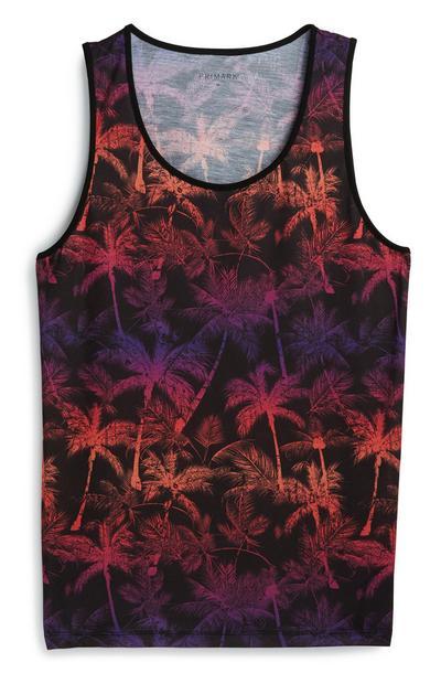 Palm Print Vest