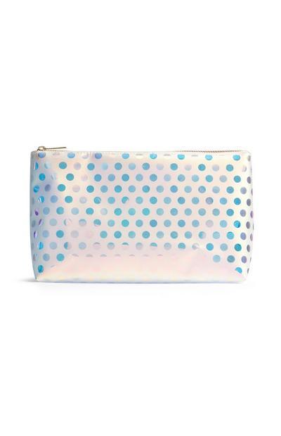 Polka Dot Make Up Bag