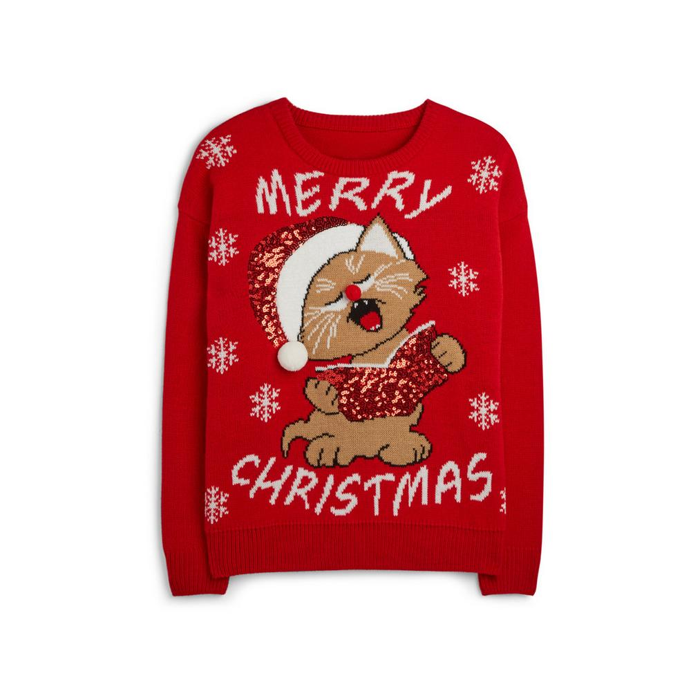 b117c3e35d1 Carolling Cat Christmas Jumper | Jumpers & Sweaters | Jumpers ...