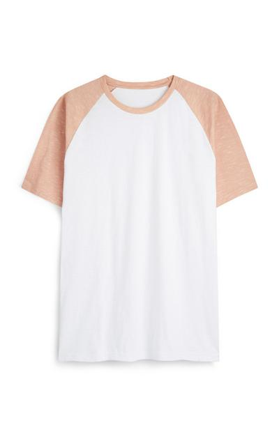 White And Pink T-Shirt